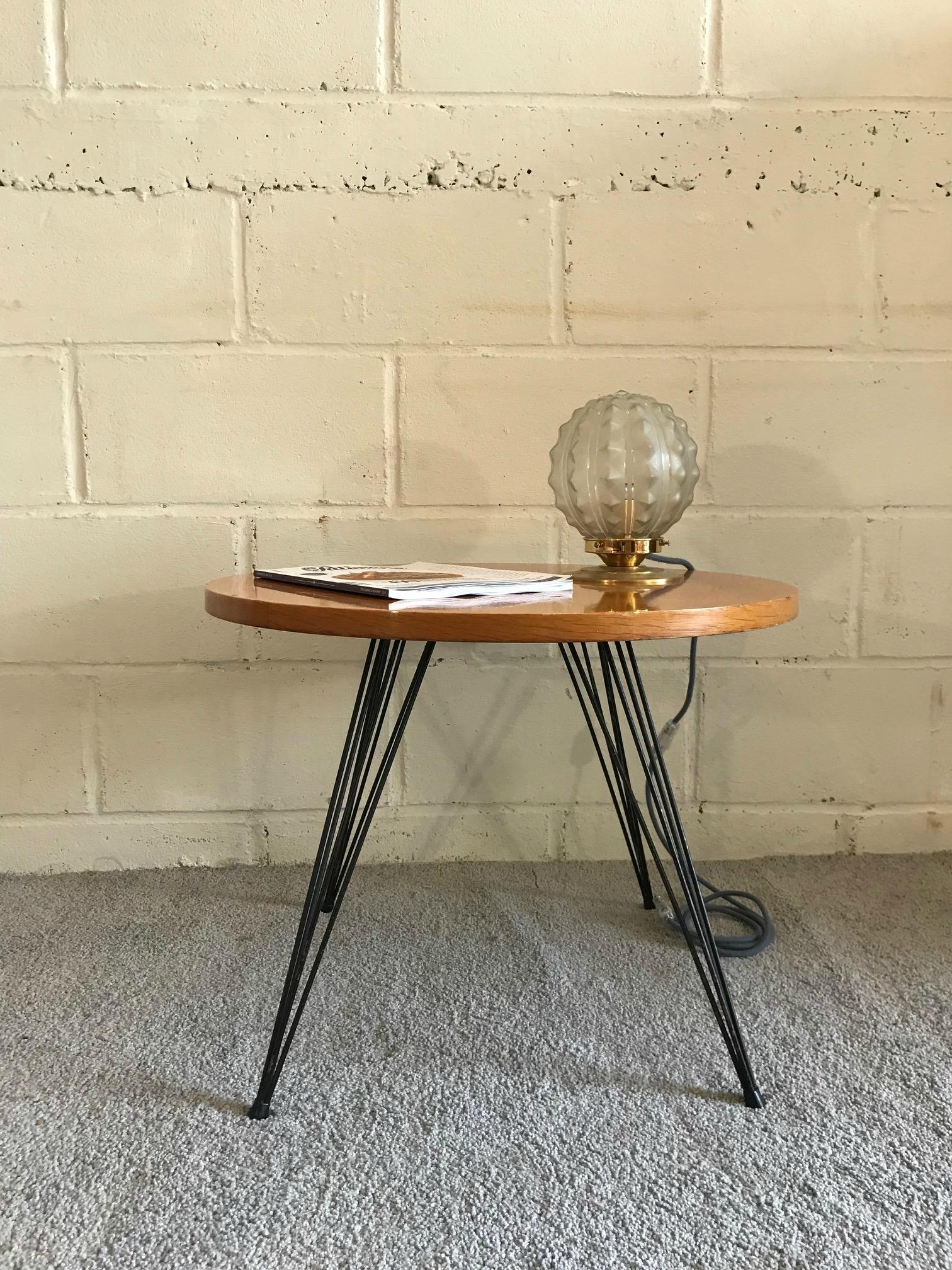 Table basse vintage paris