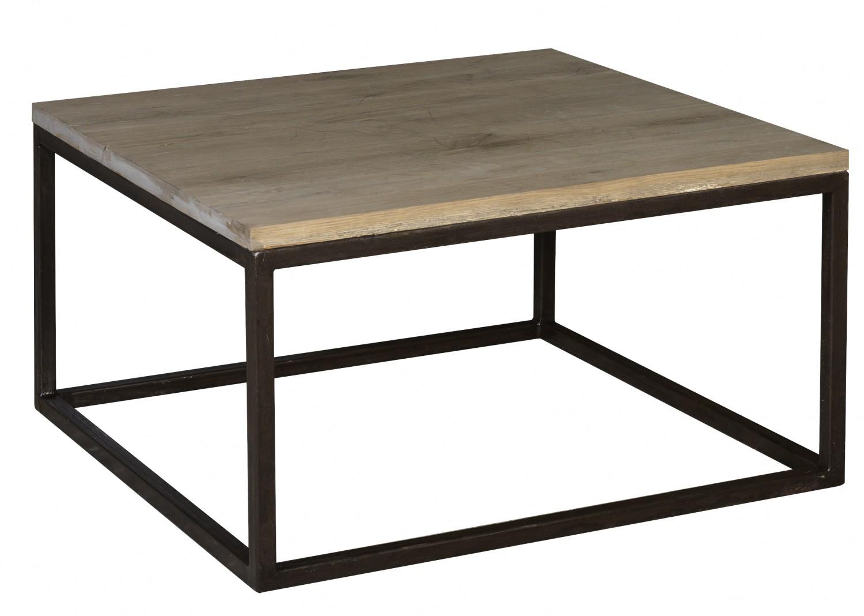 Table basse carree chene