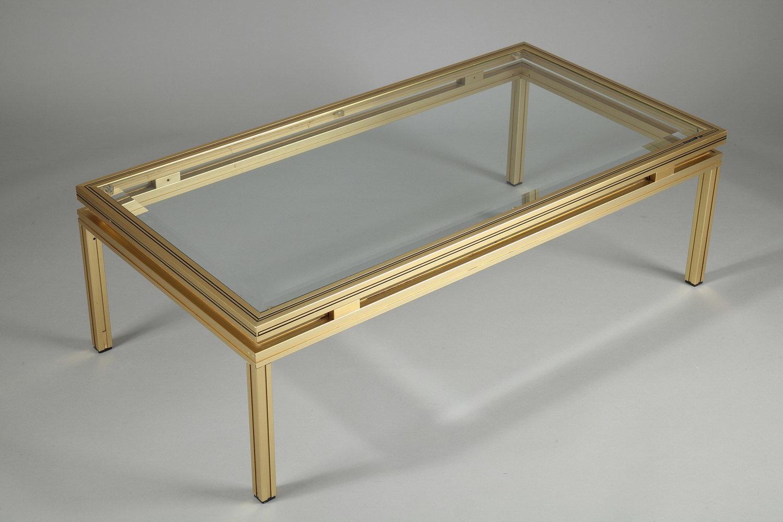 Table basse en verre pierre vandel