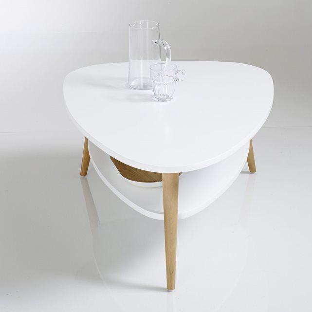 Table basse vintage double plateau jimi la redoute
