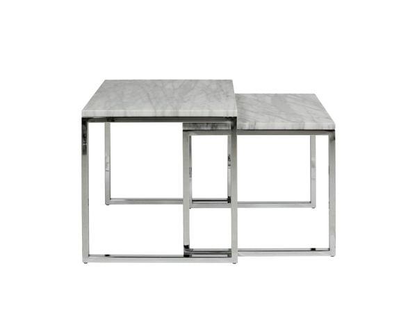 Table basse en marbre ovale