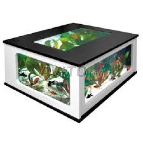 Table basse aquarium a vendre