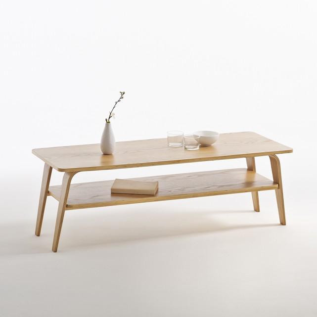 Table basse vintage double plateau jimi taille unique