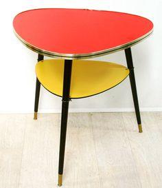 Table basse moderne vintage