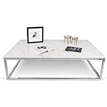 Table basse faux marbre