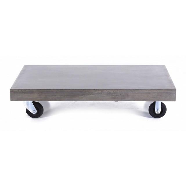 Table basse beton la redoute