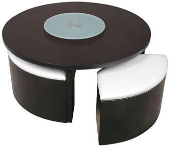 table basse avec poufs integres pas cher maison et meuble de maison. Black Bedroom Furniture Sets. Home Design Ideas