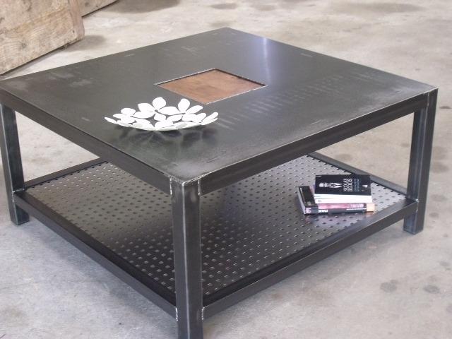 Et De Table Meuble Fer Industriel Maison Basse j5RLAc34q