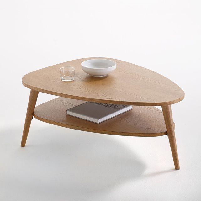 Petite table basse ronde vintage