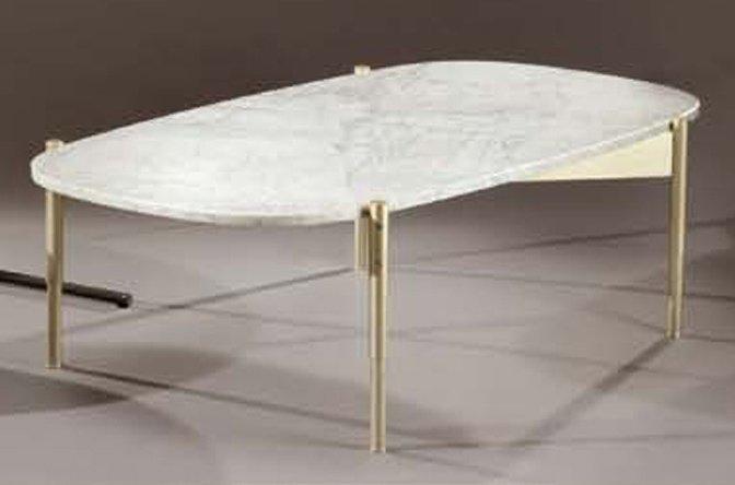 Table basse marbre gris