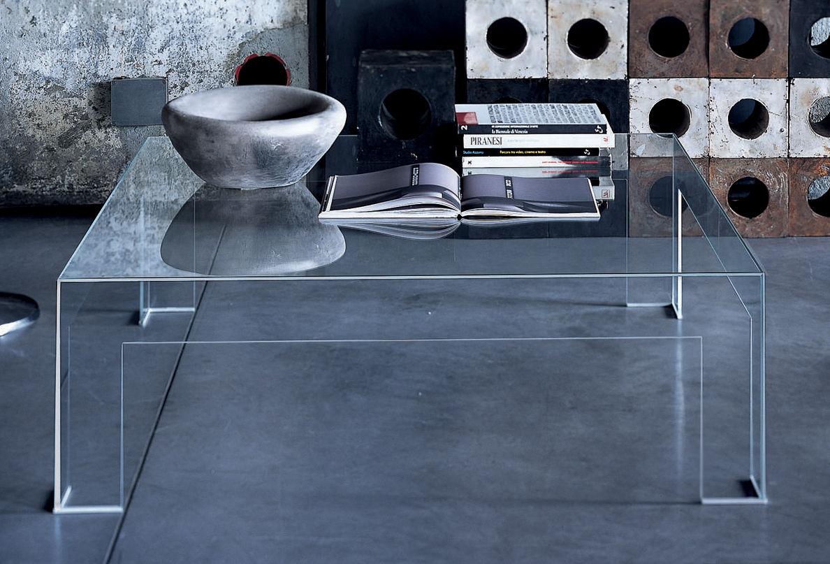 Table basse verre kartell