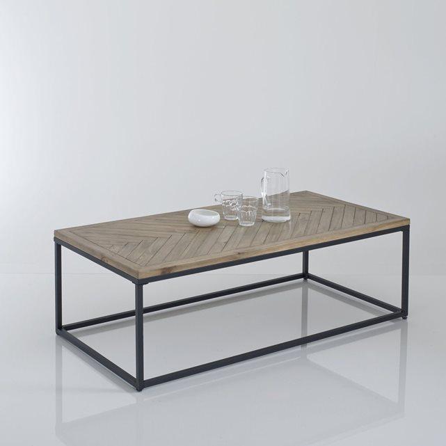 Table basse la redoute en verre
