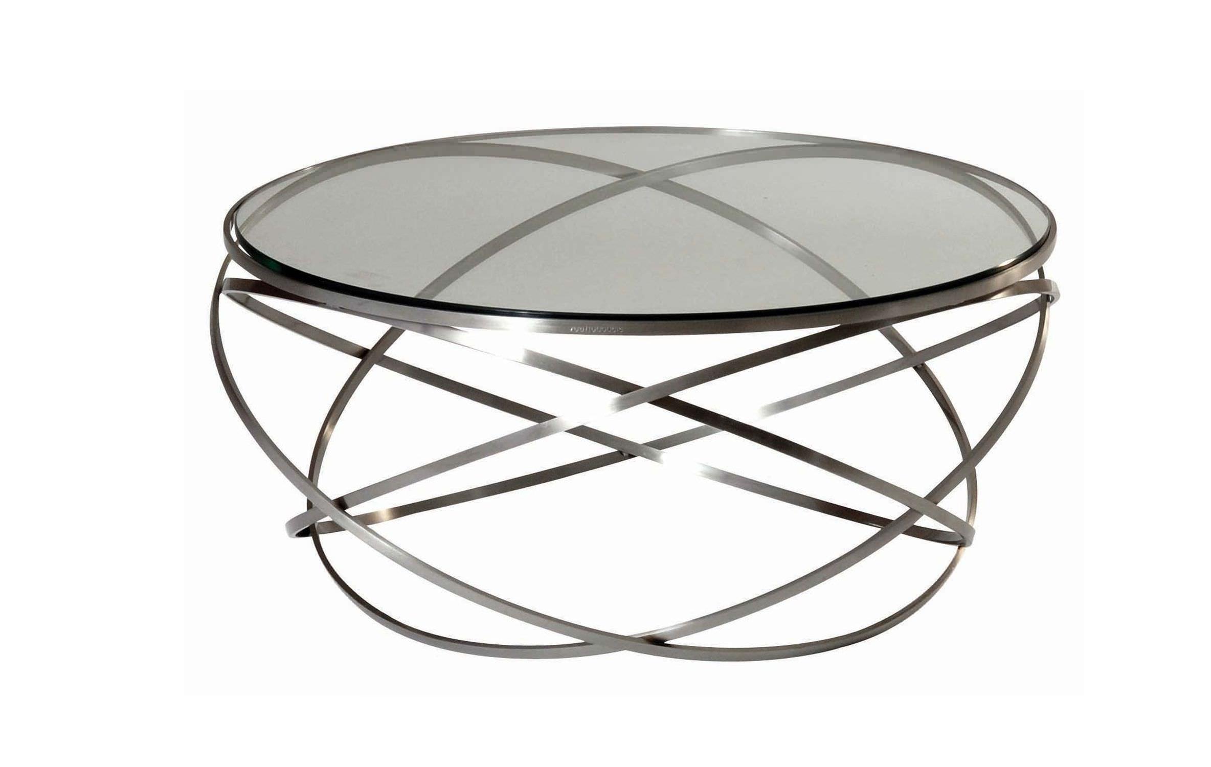 Table basse en verre la roche bobois