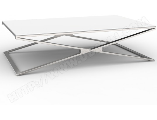 Table basse relevable en verre pas cher