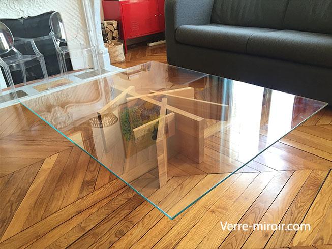 Fabriquer une table basse en verre