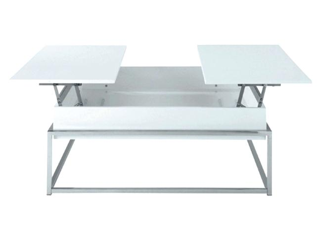 Table basse relevable chez alinea