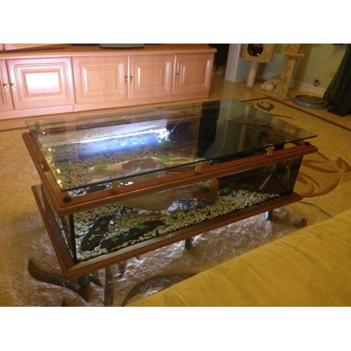 Table basse aquarium acheter