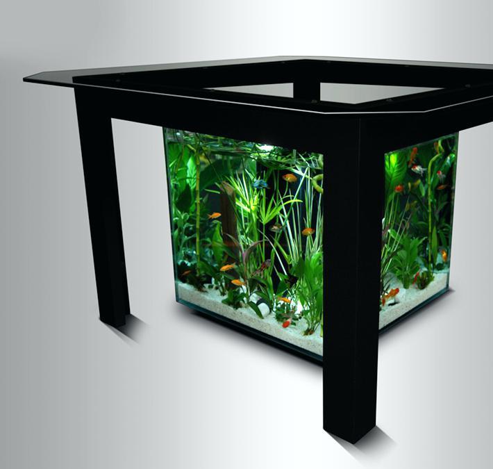 Recherche table basse aquarium occasion