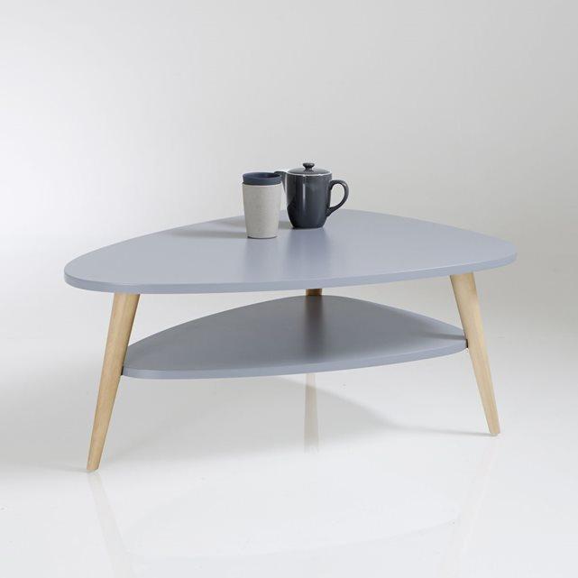 Table basse vintage double plateau jimi