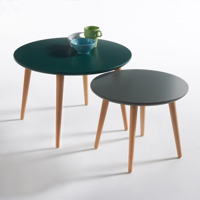 Table basse ronde redoute