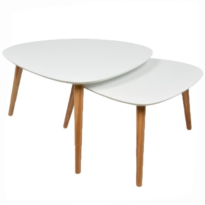 Table basse pas cher scandinave