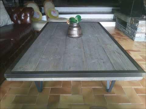 Tutoriel table basse industrielle