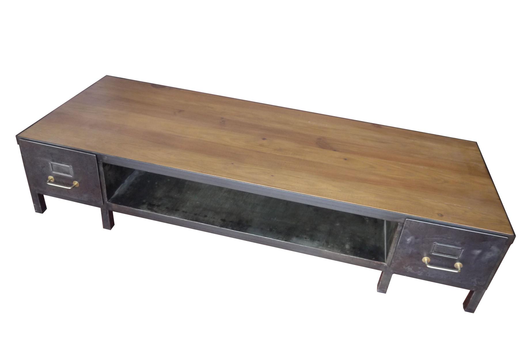 Table basse industrielle lyon