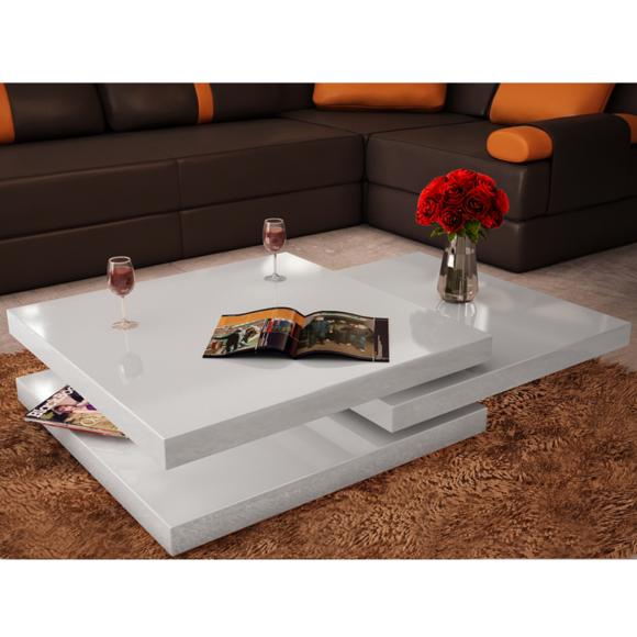 Table basse en carré