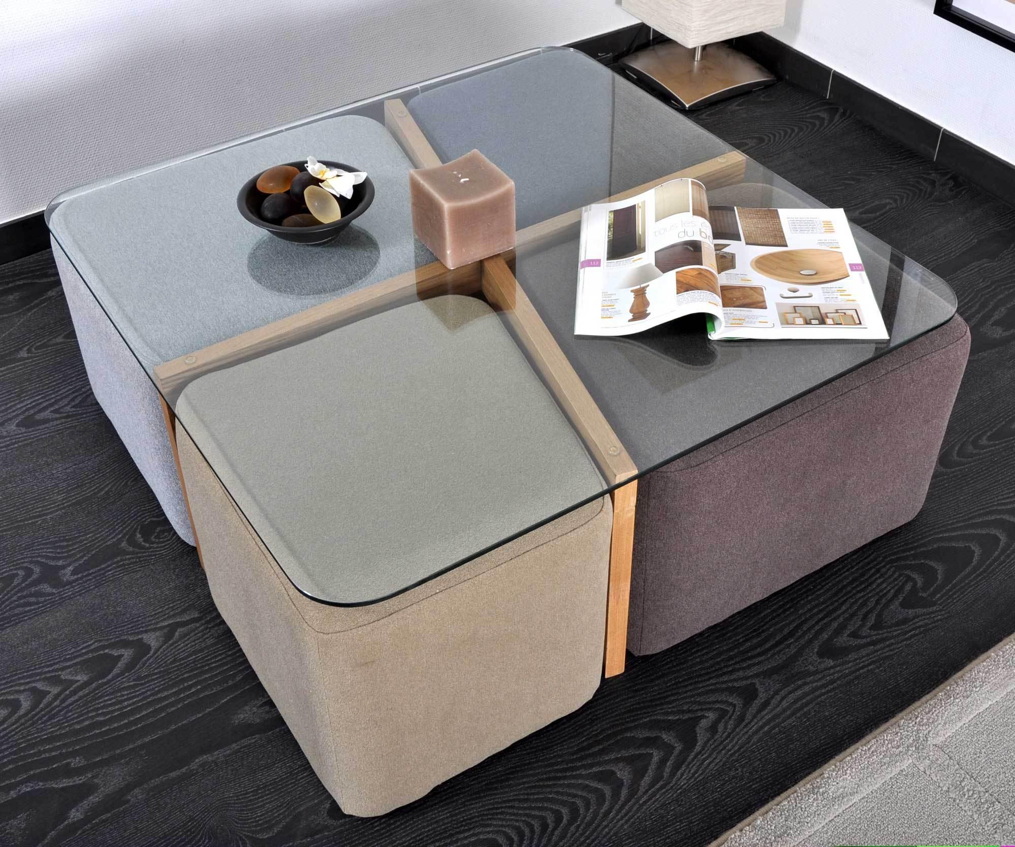 table basse avec pouf osier maison et meuble de maison. Black Bedroom Furniture Sets. Home Design Ideas