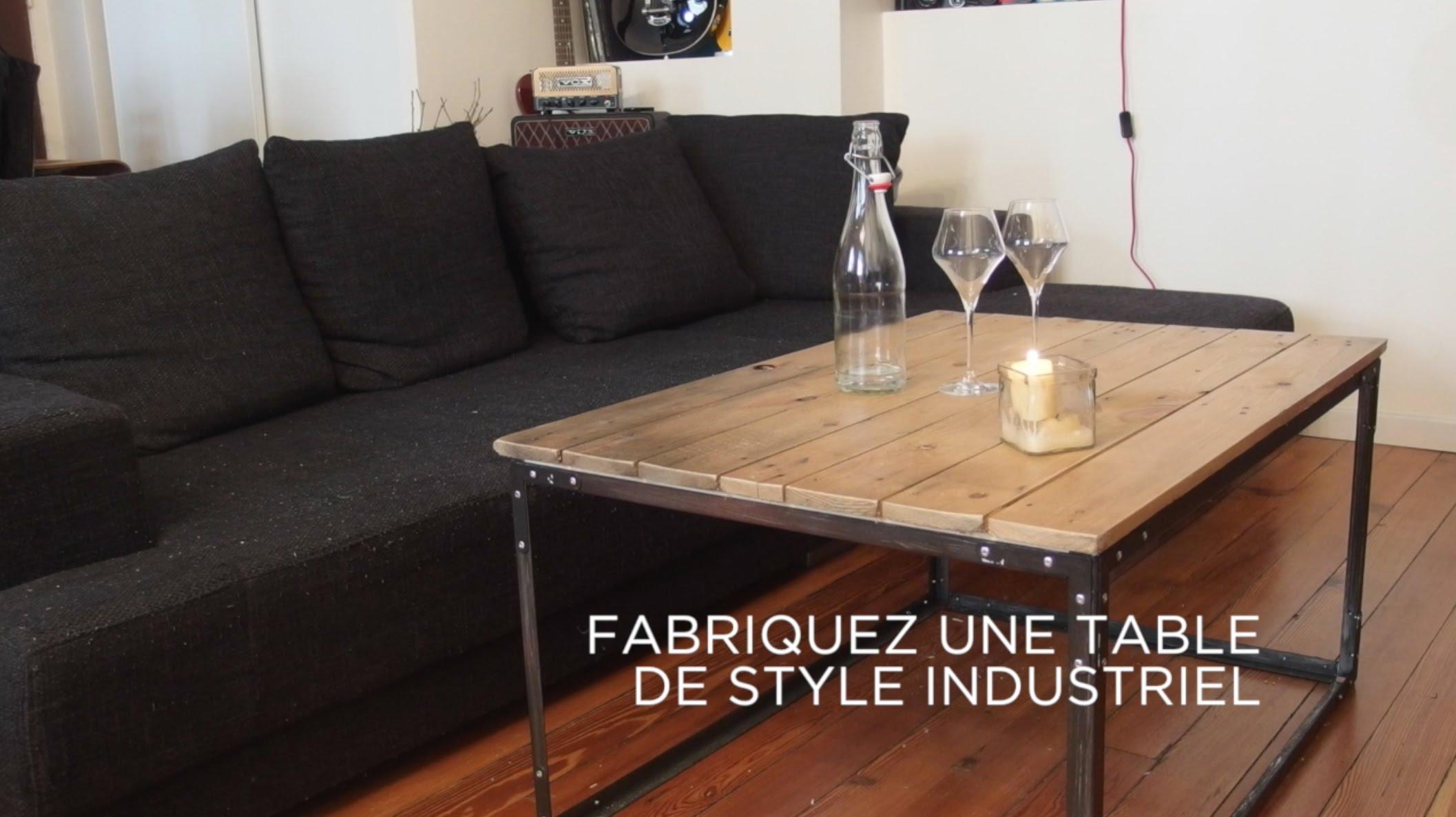 De Industrielle Maison Fabriquer Table Basse Et Meuble Sa b6gfyv7Y
