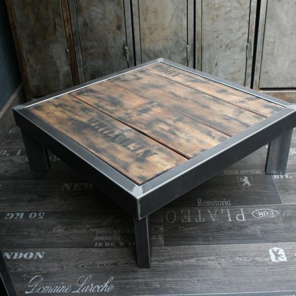 Table basse industrielle design
