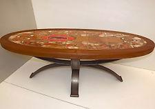 Table basse fer vintage