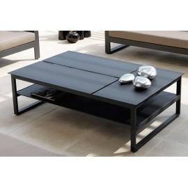 Table basse carrée haut de gamme