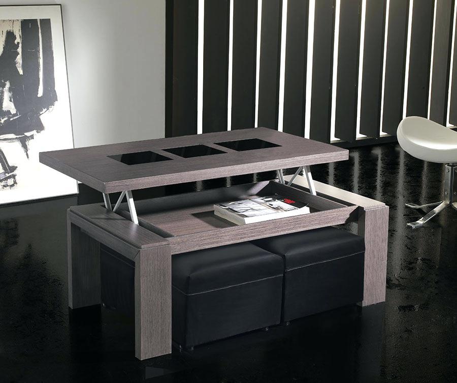 table basse avec pouf rue du commerce maison et meuble. Black Bedroom Furniture Sets. Home Design Ideas