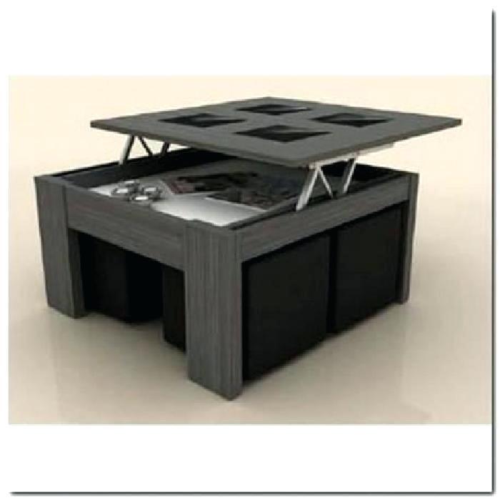 Table basse avec pouf chez but