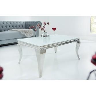 Table basse en verre baroque