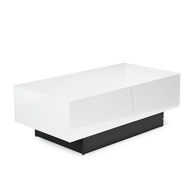 Table basse avec caisson de rangement