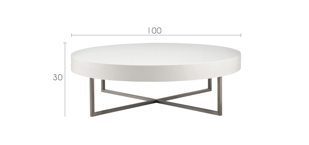 Table basse ronde discount