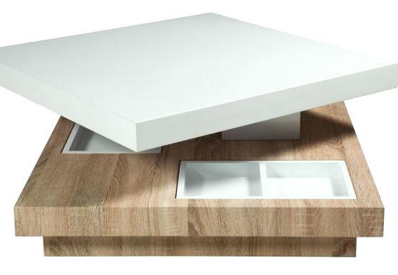 Table basse avec 2 poufs en bois/plateau verre trempé galet
