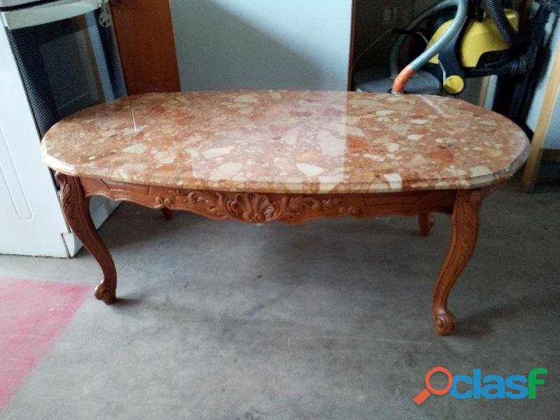 table basse ancienne plateau marbre maison et meuble de. Black Bedroom Furniture Sets. Home Design Ideas