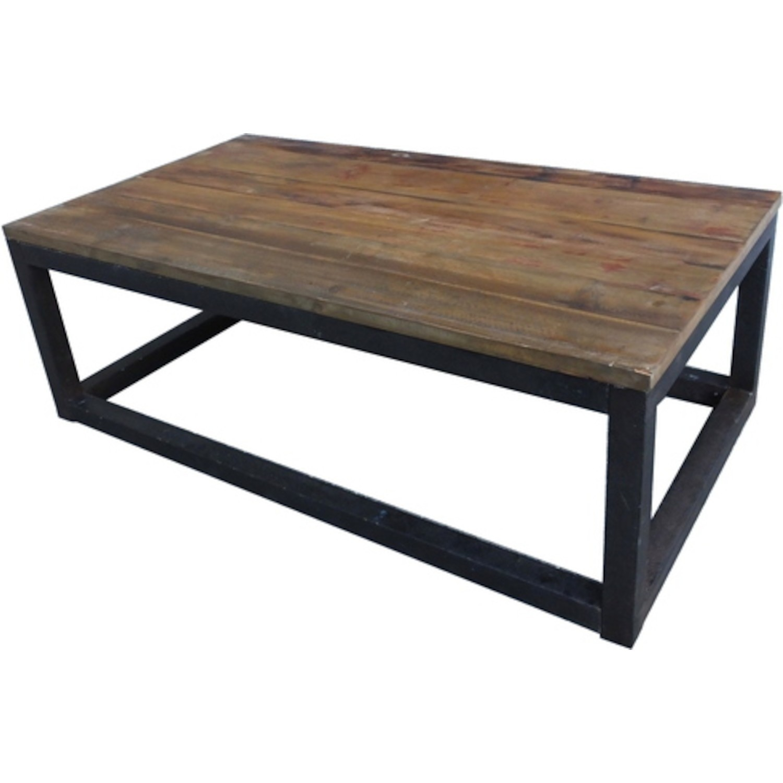 Table basse carrée bois pas cher