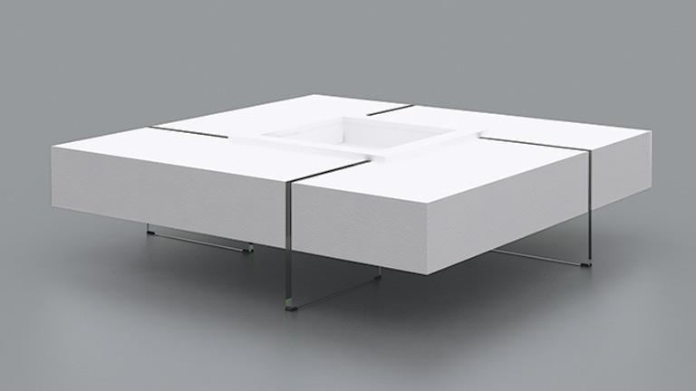 Mobilier Laque Contemporain Table Basse - onestopcolorado.com -