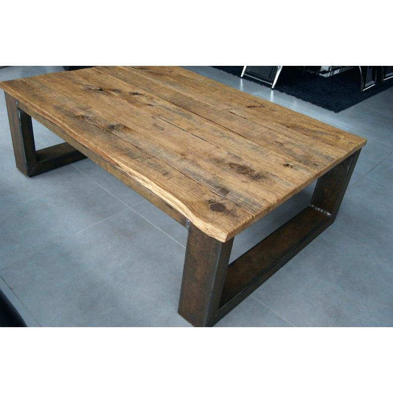 Table basse industrielle d'occasion