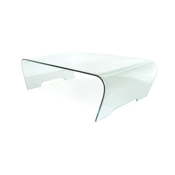 Table basse pas cher verre