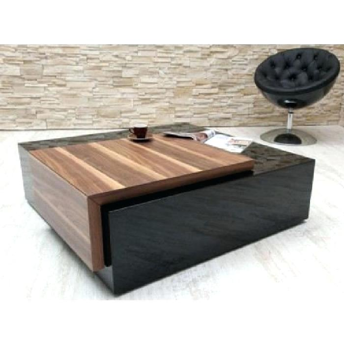 Table basse design en verre longueur 130 cm hayle