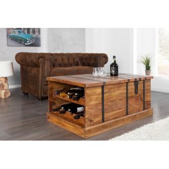 table basse avec rangement bouteille maison et meuble de. Black Bedroom Furniture Sets. Home Design Ideas