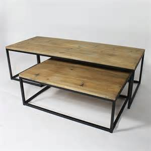 Table basse industrielle but