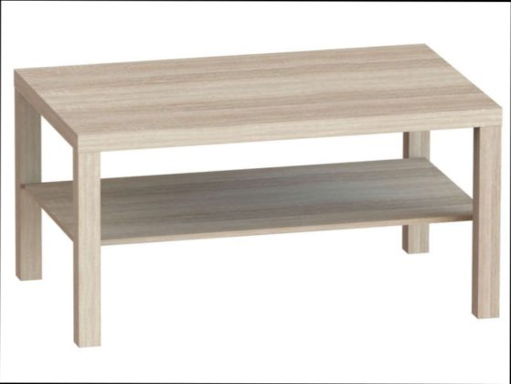 Table basse merisier la redoute