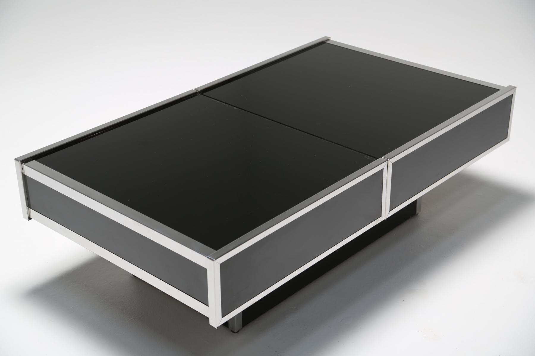 Table basse verre lancel