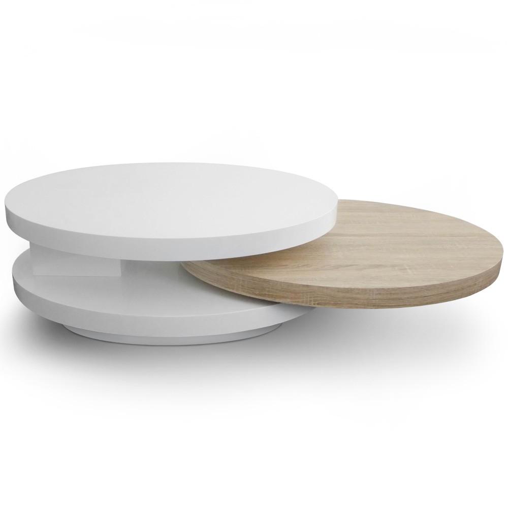 San Francisco f41b5 ee73f Table basse ronde occasion - Maison et meuble de maison